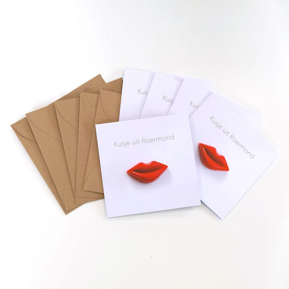 kaarten kusje uit Roermond